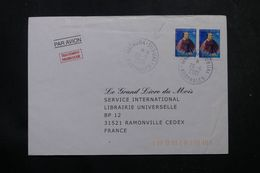 POLYNÉSIE - Affranchissement De Mataura-Tubuai Sur Enveloppe Commerciale Pour La France En 2001  - L 64051 - Polynésie Française