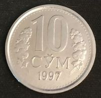 OUZBEKISTAN - UZBEKISTAN - 10 SO'M 1997 - KM 10 - СЎМ - CYM - Uzbekistan