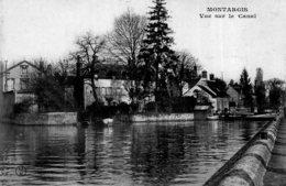 B68578 Cpa Montargis - Vue Surle Canal - Montargis