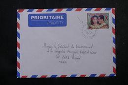 POLYNÉSIE - Affranchissement De Tearavero Kauehi Sur Enveloppe Pour Papeete En 2002 - L 64058 - Polynésie Française