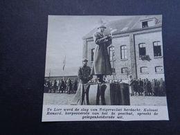 "Origineel Knipsel ( 4665 ) Uit Tijdschrift "" Zondagsvriend ""  1936 :  Lier    Lierre - Vieux Papiers"
