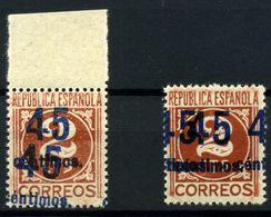 España Nº 744hh. Año 1938 - 1931-50 Ongebruikt