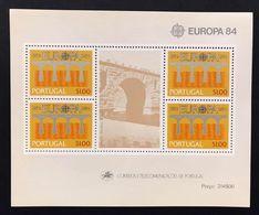 Portogallo 1984  Europa Cept 1984 Foglietti Set - 1910-... Republic