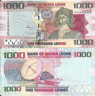 Sierra Leone 1000 Leones 2013. UNC - Sierra Leone