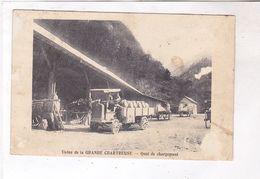 CPA DPT 38 ST PIERRE DE CHARTREUSE, USINE, QUAI DE CHARGEMENT En 1914! - Sonstige Gemeinden