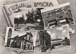 Cartolina - Postcard /   Viaggiata - Sent /  Imola,Saluti. ( Gran Formato ) Anni 50° - Imola
