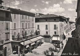 Cartolina - Postcard /   Viaggiata - Sent /  Imola, Piazza Dei Caduti.  ( Gran Formato ) Anni 50° - Imola