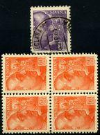 España Nº 873 Y 877. Año 1939 - 1931-50 Usados