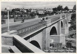 Cartolina - Postcard /   Viaggiata - Sent /  Imola, Ponte Sul Santerno.  ( Gran Formato ) Anni 50° - Imola