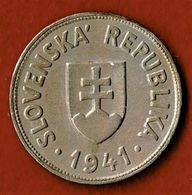 SLOVAQUIE / SLOVENSKA REPUBLIKA / 50 HALIEROV / 1941 - Slovakia