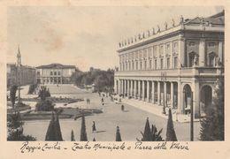 Cartolina - Postcard /   Viaggiata - Sent /  Reggio Emilia, Teatro Municipale  ( Gran Formato ) Anni 30° - Reggio Nell'Emilia