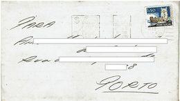 Mechanical Meter PENSE DUAS VEZES ANTES DE GASTAR  DINHEIRO  1974 Porto Postmark , Full Letter , Error Postmark - Postmark Collection