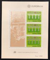 Portogallo Madeira 1984  Europa Cept 1984 Foglietti Set - Emissions Locales