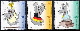 2014Germany3075-3077Comics8,40 € - Unused Stamps