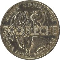 2019 MDP161 - LA FLECHE - Zoo De La Flèche 1 (Mieux Connaître Pour Mieux Protéger) / MONNAIE DE PARIS - 2019