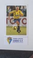 Mirosavljevic - Cadiz FC Postcard - Fútbol
