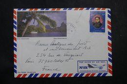 POLYNÉSIE - Affranchissement De Faaa-Aéroport Sur Enveloppe Pour La France En 1982 - L 64077 - Polynésie Française