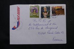 POLYNÉSIE - Affranchissement De Piraé Sur Enveloppe Pour La France En 1983 - L 64078 - Polynésie Française