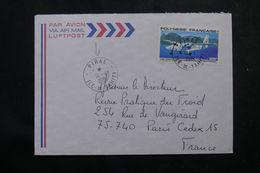 POLYNÉSIE - Affranchissement De Piraé Sur Enveloppe Pour La France En 1981 - L 64079 - Polynésie Française