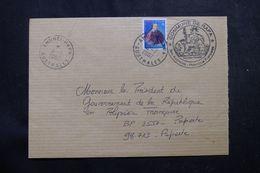 POLYNÉSIE - Affranchissement De Ahuré-Rapa Sur Enveloppe Pour Papeete En 2002 - L 64080 - Polynésie Française