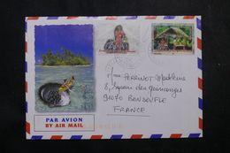 POLYNÉSIE - Affranchissement De Papetoa-Moorea Sur Enveloppe Pour La France En 2005 - L 64083 - Polynésie Française