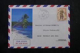 POLYNÉSIE - Affranchissement De Papara Sur Enveloppe Pour La France En 1986 - L 64085 - Polynésie Française