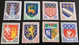 N° 1351A   A  1354B   NEUF ** SANS  CHARNIÈRE ( LOT:1750 ) - 1941-66 Escudos Y Blasones