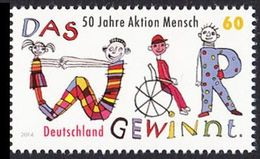 """2014Germany307250 Years """"Man Of Action"""" - Unused Stamps"""