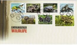 Australia 2016 Endangered Wildlife FDC - Premiers Jours (FDC)