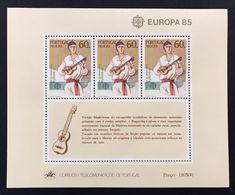 Portogallo Madeira 1985  Europa Cept 1985 Foglietti Set - Local Post Stamps