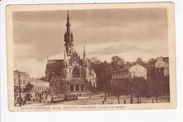 PL198  --  KRAKOW - PODGORZE  --  LA PLACE DU MARCHE  --  TRAMWAY  --  1931 - Poland