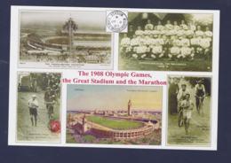 Modern Postcard Showing London 1908 Olympic Stadium - Mint  (G112-2) - Verano 1908: Londres