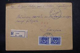 YOUGOSLAVIE - Enveloppe En Recommandé De Mostar Pour Sarajevo En 1949, Affranchissement Plaisant - L 64098 - Briefe U. Dokumente