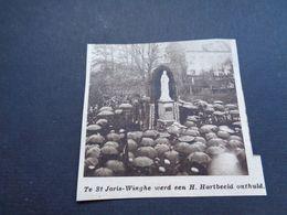 """Origineel Knipsel ( 4700 ) Uit Tijdschrift """" Zondagsvriend """"  1936 :  Sint Joris - Winghe ( Wingene ) - Vieux Papiers"""