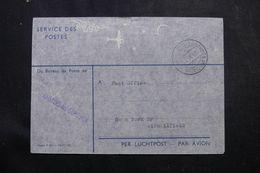 PAYS BAS - Enveloppe En Franchise Postale De Amsterdam Pour New York En 1952 - L 64100 - Period 1949-1980 (Juliana)