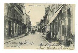 CPA 89 AUXERRE LA RUE DU TEMPLE - Auxerre