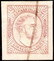 ✔️ Spain Espãna 1874- Carlista Valencia - Carlos - Ed. 159 (o) - Carlistes