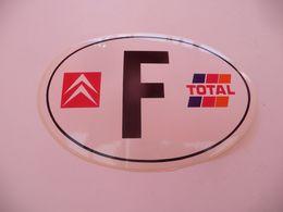 Autocollant ( Auto Voiture )  Logo Citroën FRANCE Total - Stickers