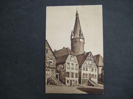 # AK  Ottweiler Mit Dem Alten Turm - Kreis Neunkirchen