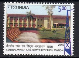 India 2016 Water & Power Research Station, Pune, MNH, SG 3180 (E) - India
