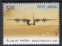India 2016 Airforce C-130J Hercules Aeroplane, MNH, SG 3181 (E) - India