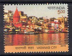 India 2016 60th Anniversary Of Renaming Of Benares To Varanasi, MNH, SG 3187 (E) - India