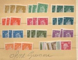 1926 Nov. Célébrités (*)  Sans Colle. Michel Cote > 200 Euros Comme * - Neufs