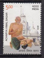 India 2016 Birth Centenary Of Acharya Vimal Sagar, MNH, SG 3205 (E) - India
