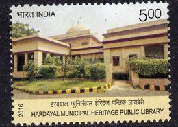 India 2016 Hardayal Municipal Public Library, MNH, SG 3210 (E) - India