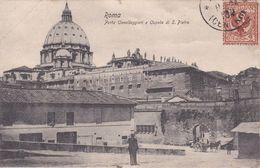 ROMA - PORTA CAVALLEGGERI E CUPOLA DI S.PIETRO - 190? - San Pietro