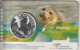 Pays Bas 2016 Coincard 5 Euro Unesco La Vasière - Pays-Bas