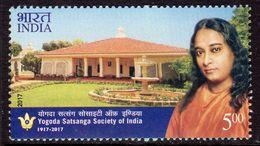 India 2017 Centenary Of Yogoda Satsanga Society, MNH, SG 3280 (E) - India