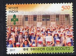 India 2017 Cub Scouts Centenary, MNH, SG 3301 (E) - India