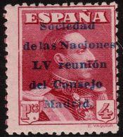 ✔️ Spain Espãna 1929 - Sociedad De Naciones  - Ed. 466 ** MNH - Sin Charnela ! - Nuovi